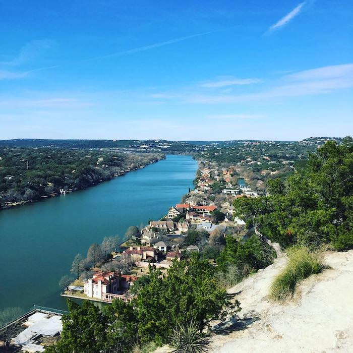 mount bonnell, photo by michael rinella